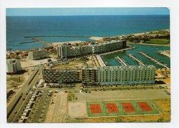 - CPSM CARNON-PLAGE (34) - En Avion Au-dessus Des Nouveaux Immeubles Et Du Port De Plaisance 1974 - Editions SL - - Mauguio