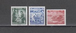 DDR  1955  Mich.Nr.481/83 ** Geprüft  BPP - DDR