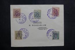 POLOGNE - Enveloppe De La 1ère Exposition Philatélique De Varsovie En 1919, Affranchissement Plaisant  - L 41059 - ....-1919 Provisional Government