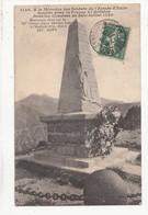 CPA A La Mémoire Des Soldats De L'Armée D'Italie Tombées Pour La France à L'AUTHION En 1793  - Achat Sans Enchères - War Memorials