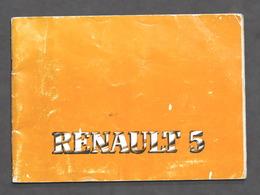 Automobilismo - Manuale Uso E Manutenzione Renault 5 - 1980 - Otros