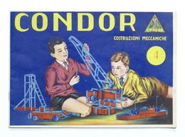 Modellismo - Catalogo Condor - Costruzioni Meccaniche - Scatola N. 4 - Otros
