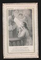IMAGE PIEUSE  HEILIG PRENTJE - TOP - TURGIS  590  -     11.5 X 7.5 CM   2 SCANS - Images Religieuses