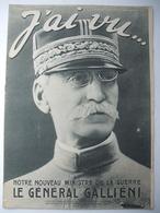 WW I : J'AI VU : 1915 : CHAMPAGNE . BALLON CAPTIF .CHASSEURS-ALPINS VOSGES . TROUPES D'ORIENT . ZOUAVES . SERBES .Etc .. - Newspapers