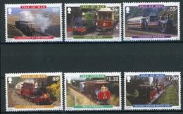 Isle Of Man MiNr. 1627-32 Postfrisch MNH Eisenbahn (H1290 - Man (Insel)