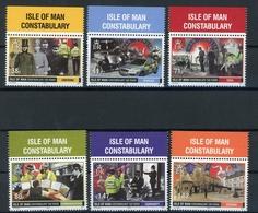 Isle Of Man MiNr. Block 91 Postfrisch MNH Polizei (H1267 - Man (Insel)