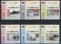 Isle Of Man MiNr. 1874-79 Postfrisch MNH The Times (H1278 - Man (Insel)