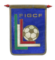 Sport - Gagliardetto FIGCF - Federazione Italiana Gioco Calcio Femminile 1970 Ca - Apparel, Souvenirs & Other