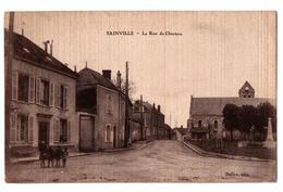 SAINVILLE LA RUE DE CHARTRES ANIMEE - France