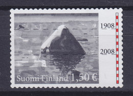 Finland 2008 Mi. 1916     1.50 € UNESCO-Welterbe Stein Im Schärengebiet Nordkvark, Pegelstände, MNG - Finland