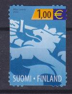Finland 2002 Mi. 1607     1.00 € Nationalwappen Wappenlöwe, MNG - Finland