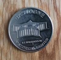 3253 Vz Bastogne Le Mardasson Historical Center - Kz Belgian Heritage Collectors Coin - België