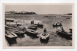 - CPSM RABAT (Maroc) - Passeurs à L'embouchure Du Bou Regreb Et La Pointe Des Oudaïas - Photo CAP 132 - - Rabat
