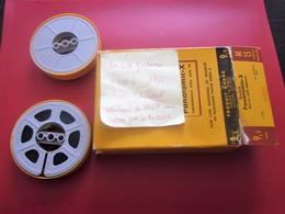 1948/66 ABBÉ CURE DE GARDANNE ANDRÉ CHALAMET CONSTRUIT EN 1957 UNE ÉGLISE POUR LES MINEURS 2 BOBINE De FILM KODAK 9.5-mm - Religion & Esotérisme