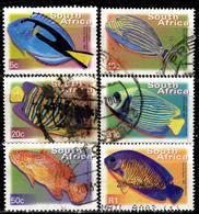 RSA+ Südafrika 2000 Mi 1285-88 1290 1295 Fische - África Del Sur (1961-...)