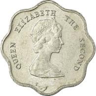 Monnaie, Etats Des Caraibes Orientales, Elizabeth II, 5 Cents, 1986, TB+ - East Caribbean States