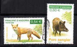 Serie  Nº 649/50  (catalogo Yvert) Andorra Francesa - Used Stamps