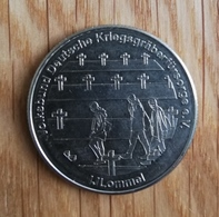 3255 Vz Volksbund Deutsche Kriegsgräberfürsorge IJlommel - Kz Belgian Heritage Collectors Coin - België