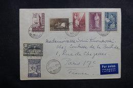 FINLANDE - Enveloppe De Helsinki Pour La France En 1953, Affranchissement Plaisant - L 41065 - Lettres & Documents