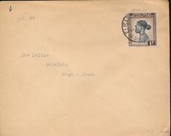 BELGIAN CONGO INLAND OPEN COVER FROME/VILLE 1946 TO KINDU PORT EMPAIN - 1923-44: Briefe U. Dokumente