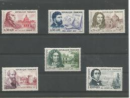 France   Serie   N° 1257/1262  Neufs **   Cote 21 € - Nuevos