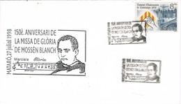 33715. Carta MATARÓ (Barcelona) 1998. Misa De Gloria Mossen BLANCH - 1931-Hoy: 2ª República - ... Juan Carlos I