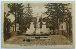 CREMIEU (38/Isère) - Monument Aux Morts - Edition Bonnard Lagnieu - Crémieu