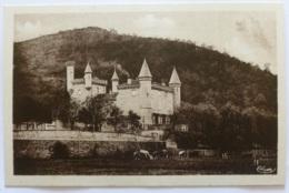 CREMIEU (38/Isère) - Chateau De Bien Assis - Vache Dans Le Pré - Crémieu
