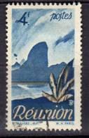 Reunion 1947 Serie Courante Piton 4F N° YT 274 - Oblitérés