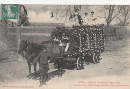 34/ Lunel Fetes De La Charité Du 21 Mars 1909 -  N °  5 La Fée Verte , Usine Gempp Pernaod ,Perillier Freres Succ - Lunel