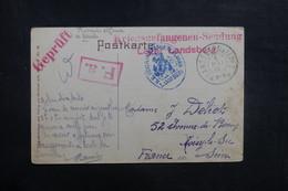 FRANCE / ALLEMAGNE - Carte Postale Du Camp De Prisonniers De Landsberg Pour La France En 1915 - L 41072 - Poststempel (Briefe)