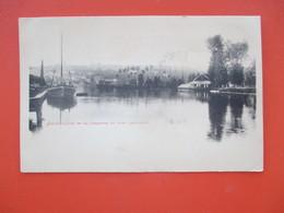 ANGOULEME - La Charente Au Port Lhoumeau - Carte Precurseur Dos Non Sépare - TBE - Angouleme