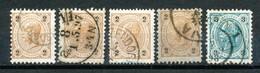 Österreich-  Mi.Nr.  37--------52  Gestempelt      Kaiser Franz Joseph - 1850-1918 Imperium