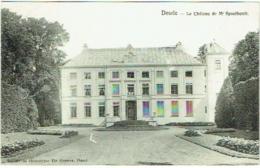 Deurle. Le Château De Mr. Spoelberch. - Sint-Martens-Latem