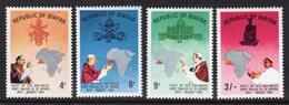 NIGERIA BIAFRA - 1969 POPE'S VISIT SET (4V) FINE MNH ** SG 39-42 - Nigeria (1961-...)