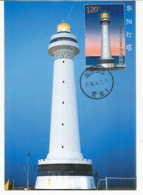 Spratly Islands.New Huayang Lighthouse In Disputed South China Sea.,maximum-card Year 2016, With Explanation At The Back - Vuurtorens