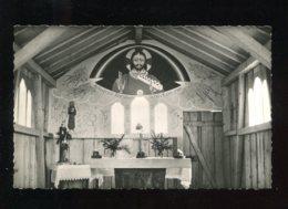 CPSM Neuve 68 Au VIEIL ARMAND Intérieur De La Chapelle Saint François - France