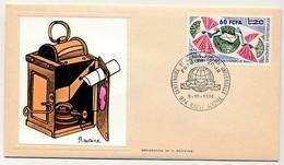 FRANCE-REUNION - Enveloppe FDC Thiaude - Centenaire De L'Union Postale Universelle - 6/10/1974 - Covers & Documents