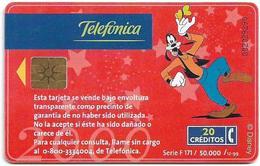 Argentina - Telefónica - Walt Disney 2000 Roller Coaster - 12.1999 - 50.000ex, Used - Argentinië