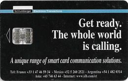 Argentina - Schlumberger Advertising Solutions, SC7, Promotional Loaded 50 Units - Argentinië