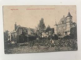 Carte Postale Ancienne  MONTALEUX Château DEMARCHELLIER. Ancien Château Mimerel - Mouscron - Moeskroen