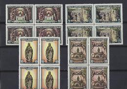 Turquie:1630/ 1633 **   Maison De La Vierge à Ephèse  (4x) - Unused Stamps