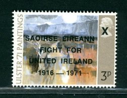 IRLANDA EIRE - MNH NUOVO PERFETT0 LUXE - SAOIRSE EIREANN FIGHT FOR UNITED IRELAND 1916-1971 -  Anglo-Irish War - 1949-... Repubblica D'Irlanda