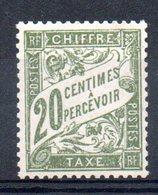 FRANCE - YT Taxe N° 31 - Neuf ** - MNH - Cote: 15,00 € - Portomarken