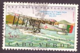 Cap Vert/Cabo Verde 1972- 50th Anniversary Of The 1st South Atlantic Air Crossing 3$50 - Cap Vert