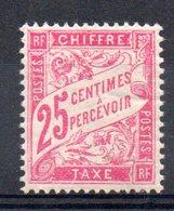 FRANCE - YT Taxe N° 32 - Neuf ** - MNH - Cote: 13,00 € - Portomarken