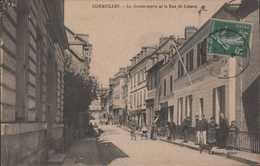 CORMEILLES La Gendarmerie Et La Rue De Lisieux - Frankreich