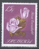 Albania 1967. Scott #1029 (U) Flower, Rose - Albanien