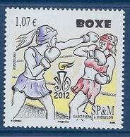 """SPM YT 1050 """" La Boxe """" 2012 Neuf** - St.Pierre Et Miquelon"""