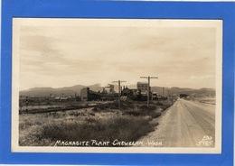ETATS UNIS - CHEWELAH Magnasite Plant, Carte Photo (voir Descriptif) - Etats-Unis